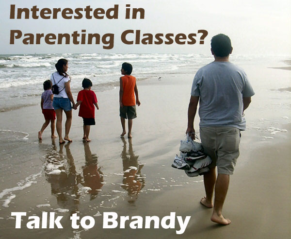 Parenting classes are available - See Brandy or Front Desk