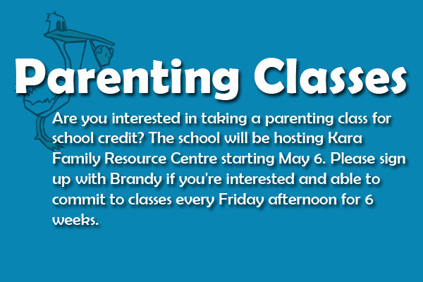 Parenting classes for school credit? See Brandy!