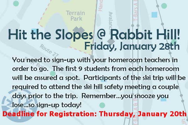 Rabbit Hill Deadline! TOMORROW!