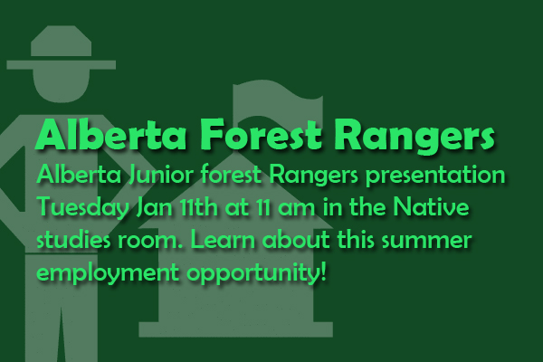 Alberta Junior Forest Rangers Presentation
