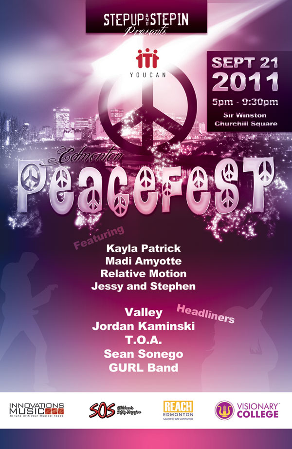 Go To PEACEFEST after our OPEN HOUSE!