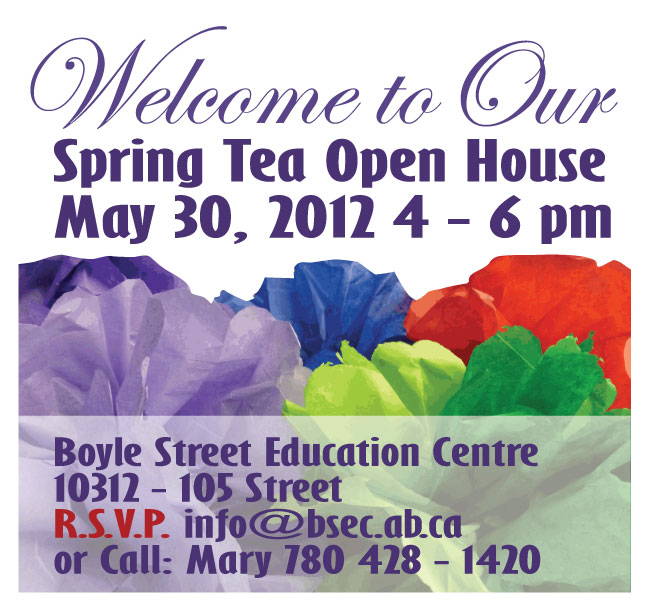 Join us on Wednesday, May 30th, for our Spring Open House