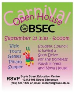BSEC Open House 2016-2017